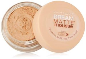Maybelline New York Dream Matte Mousse Foundation for oily skin