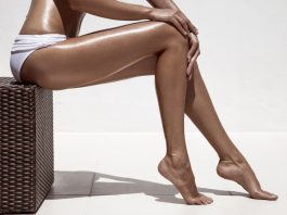 tanned skin