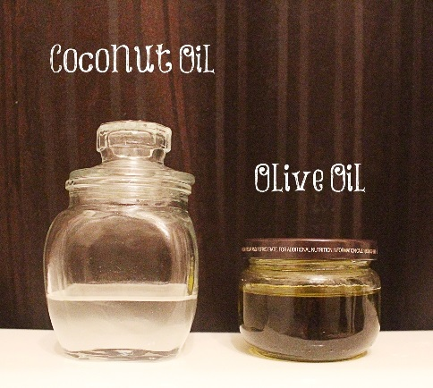 coconut and olive oil thevenusface.com