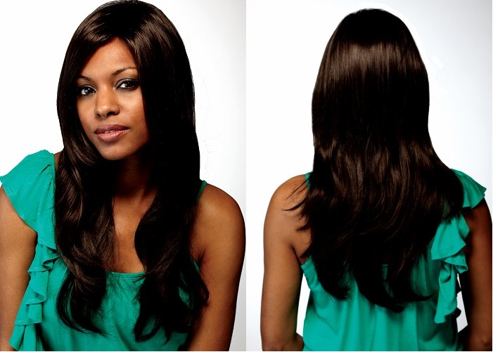 wavy human hair wigs for black women average cap size